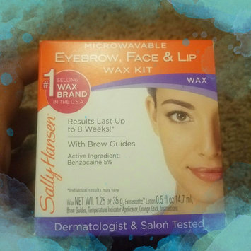 Photo uploaded to Sally Hansen Eyebrow, Face & Lip Wax, Microwaveable, wax 1.25 oz by crystal s.