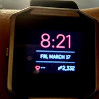 Fitbit - Blaze Smart Fitness Watch (large) - Black uploaded by Cheyenne R.