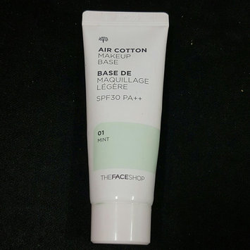 Photo of The Face Shop Air Cotton Make Up Base SPF30 PA++ uploaded by Alyanna L.