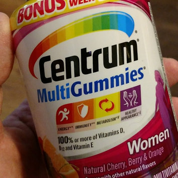Centrum MultiGummies Women, Cherry, Berry, Orange uploaded by Sharon K.
