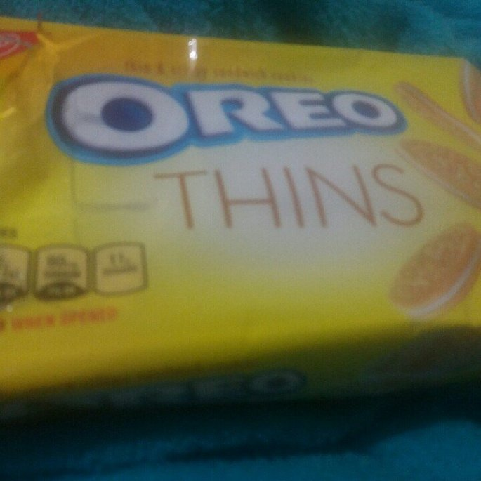 Nabisco Oreo Thins Lemon Creme Sandwich Cookies 10.1 oz. Pack uploaded by Roldamary S.