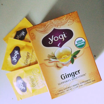 Photo of Yogi Tea Ginger Tea uploaded by Joanna E.