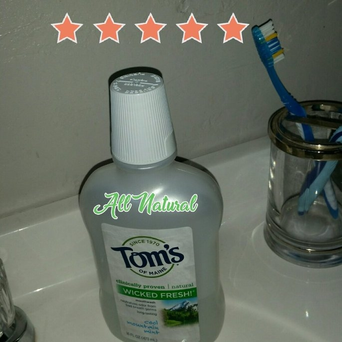 Tom's of Maine Wicked Fresh! Long Lasting Mouthwash uploaded by kei h.