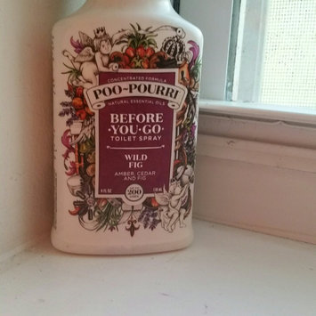 Photo of Poo-Pourri® Before-You-Go® 4 oz. Toilet Spray in Wild Fig uploaded by Ali c.
