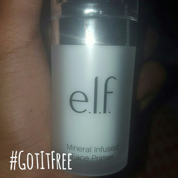 e.l.f. Cosmetics Mineral Infused Primer uploaded by Sabrina C.
