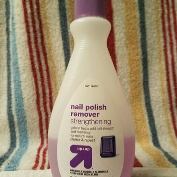 Photo of Up & up Strengthening Nail Polish Remover uploaded by Rachel T.