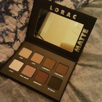 LORAC PRO Matte Eye Shadow Palette (Chocolate/Red/Latte) uploaded by Lauren W.