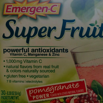 Emergen-C® Super Fruit Pomegranate Power Drink Mix Dietary Supplement 30-0.30 oz. Packets uploaded by Briselda E.