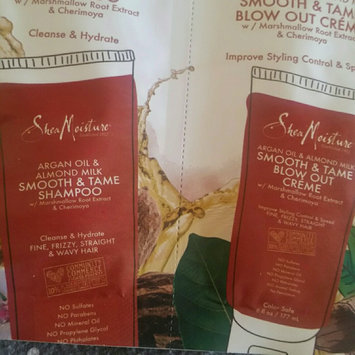 Photo of SheaMoisture Argan Oil & Almond Milk Smooth & Tame Shampoo uploaded by Sioban G.