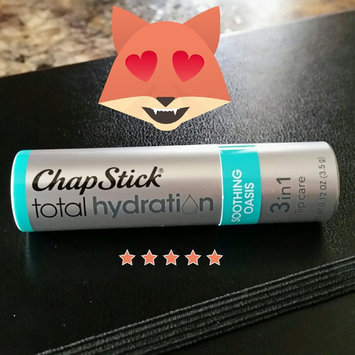 Photo of ChapStick® Total Hydration 3-in-1 Soothing Oasis Lip Care 0.12 oz. Stick uploaded by Emily L.