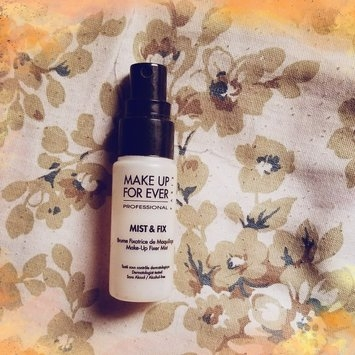 MAKE UP FOR EVER Mist & Fix Setting Spray uploaded by Priscilla D.