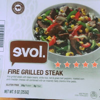 Evol Fire Grilled Steak Bowl - 9 oz uploaded by Candi E.