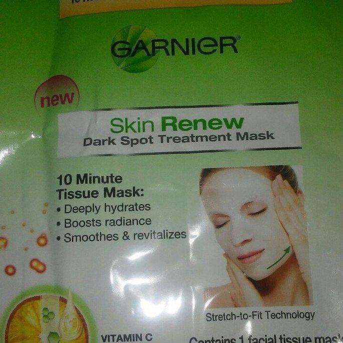 Garnier Skin Renew Dark Spot Treatment Mask - For Dark Spots and uploaded by Casey H.