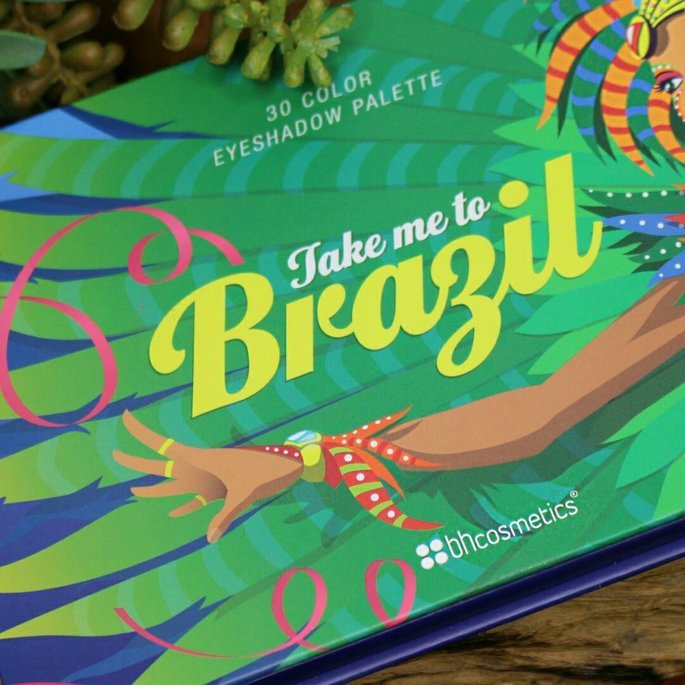 BH Cosmetics Take Me To Brazil Eyeshadow Palette uploaded by Cristin S.