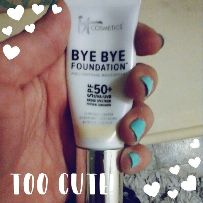 Bye Bye Foundation™ Full Coverage Moisturizer™ uploaded by Lauren P.