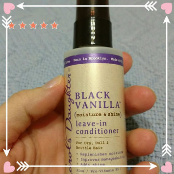 Carol's Daughter® Black Vanilla Moisture & Shine Leave-in Conditioner 2.0 fl. oz. Spray Bottle uploaded by Heidi B.