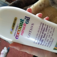 OGX® Coconut Miracle Oil Body Lotion uploaded by Kelsey B.