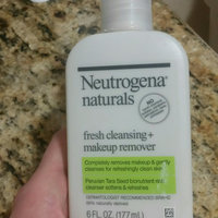 Neutrogena Naturals Fresh Cleansing + Makeup Remover uploaded by Deanna G.