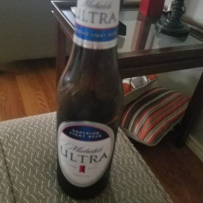 Michelob Ultra Superior Light Beer uploaded by Annie G.