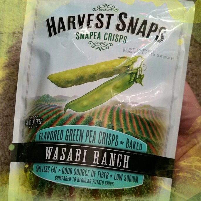 Harvest Snaps Snapea Crisps Lightly Salted uploaded by James T.