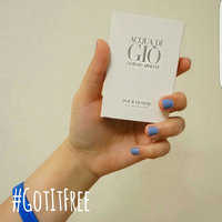 Giorgio Armani Acqua Di Gio Blue Edition Eau de Toilette Spray uploaded by Sharlene T.