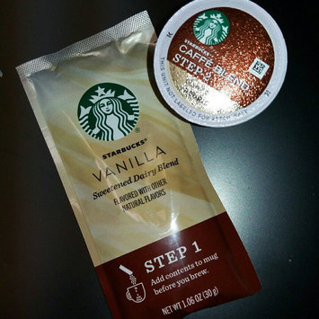 Photo of Starbucks Vanilla Caffe Latte Specialty Coffee Beverage K-Cups uploaded by Antoinette C.