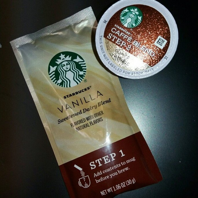 Starbucks Vanilla Caffe Latte Specialty Coffee Beverage K-Cups uploaded by Antoinette C.
