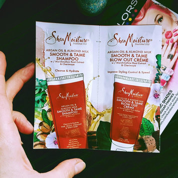 Photo of SheaMoisture Argan Oil & Almond Milk Smooth & Tame Shampoo uploaded by Nataliia B.