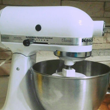 Photo of KitchenAid Classic 4.5 Qt Stand Mixer- White K45SS uploaded by Samantha H.