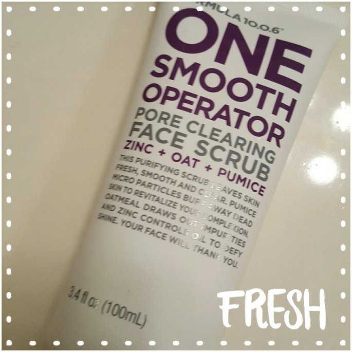 Formula 10.0.6 One Smooth Operator Pore Clearing Face Scrub uploaded by Candace H.