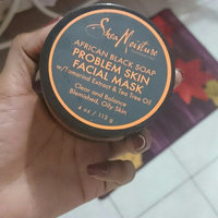 SheaMoisture African Black Soap Problem Skin Facial Mask uploaded by Angel P.
