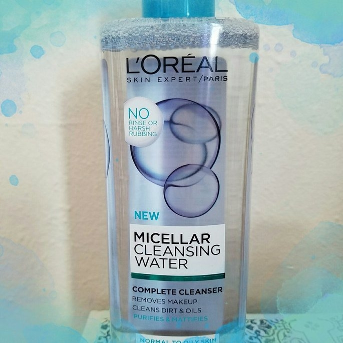 L'Oreal Paris Micellar Cleansing Water for Normal to Oily Skin 13.5 fl. oz. Bottle uploaded by Oyuky R.