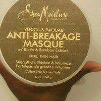SheaMoisture Organic Yucca & Baobab Anti-Breakage Masque uploaded by Jasmine B.