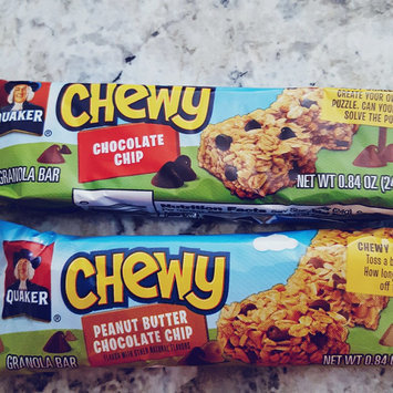 Quaker Life® Chewy Peanut Butter Chocolate Chip Snackwich, Chewy Chocolate Chip, Chewy Apples, Caramel Snackwich uploaded by sara s.