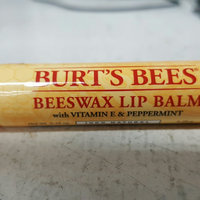 Burt's Bees® Beeswax 100% Natural Lip Balm uploaded by Linsey S.