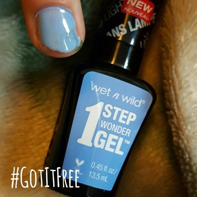 Wet 'n' Wild Wet n Wild 1 Step Wonder Gel Nail Color, Cyantific Method, .45 oz uploaded by Rose R.