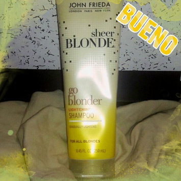 Photo of John Frieda® Sheer Blonde Go Blonder Lightening Shampoo uploaded by Amanda H.