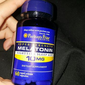 Photo uploaded to Puritan's Pride Melatonin 10 mg-60 Capsules by J B.