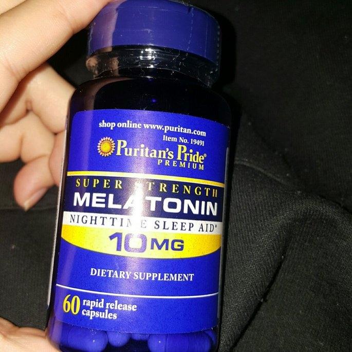 Puritan's Pride Melatonin 10 mg-60 Capsules uploaded by J B.