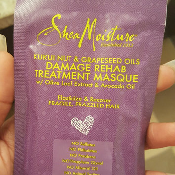 Photo of SheaMoisture Kukui Nut & Grapeseed Oils Damage Rehab Treatment Masque uploaded by Nyasha V.