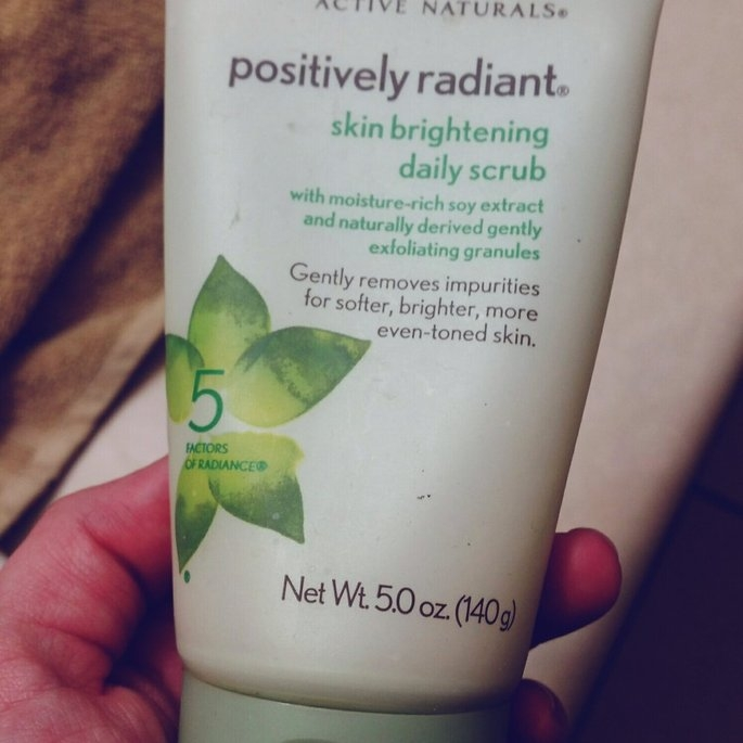 Aveeno Positively Radiant Skin Brightening Daily Scrub uploaded by member-fb603d02c