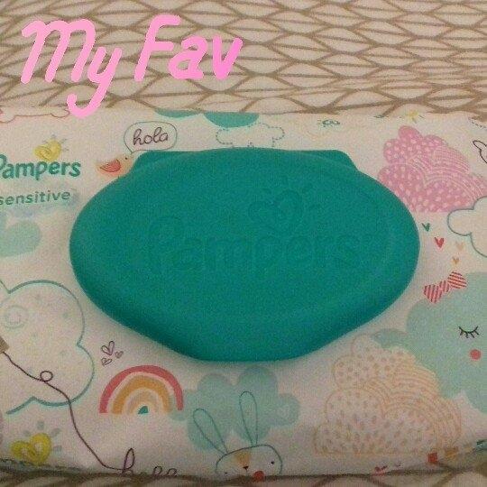 Pampers Sensitive Wipes Travel Pack, 56 ea uploaded by Leslie S.