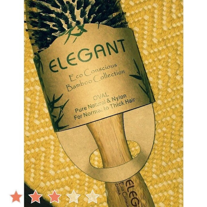 Elegant Brushes Superlite Bamboo Paddle Pin Brush uploaded by Jennifer W.