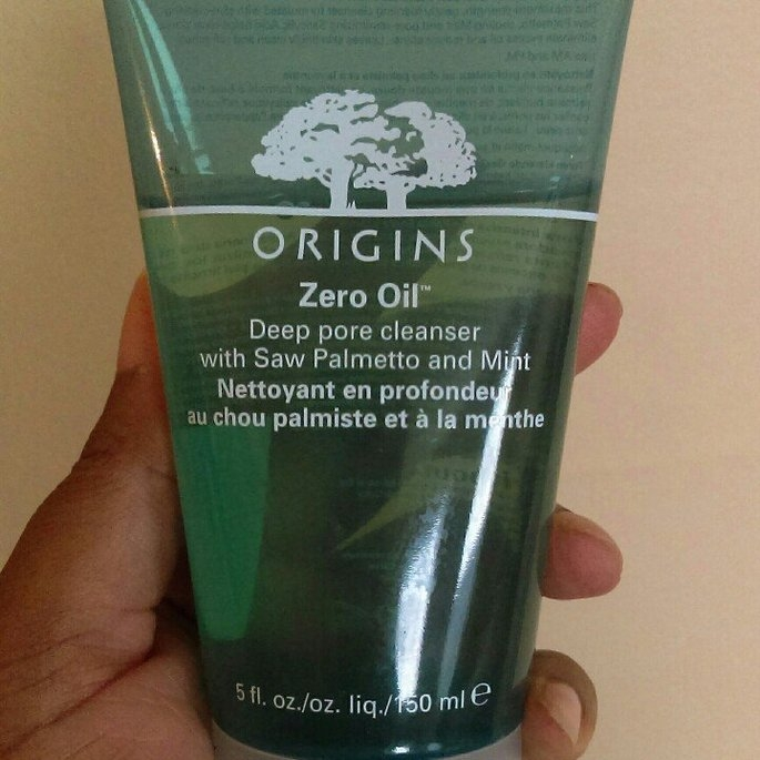Origins Zero Oil Deep Pore Cleanser with Saw Palmetto & Mint uploaded by Savetra H.