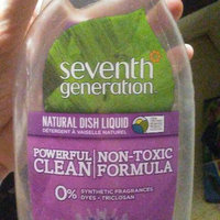 Seventh Generation Natural Dish Liquid, Fresh Lime & Lavender, 25 oz uploaded by Meganlee H.