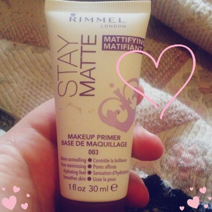 Rimmel Stay Matte Primer uploaded by Tracie C.