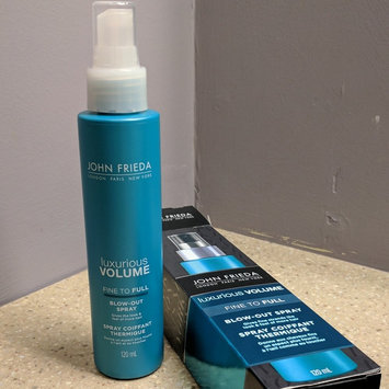 Photo of John Frieda® Luxurious Volume Fine to Full Blow-Out Spray uploaded by Nita C.