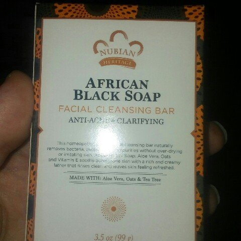 Nubian Heritage African Black Soap uploaded by Chelsea M.