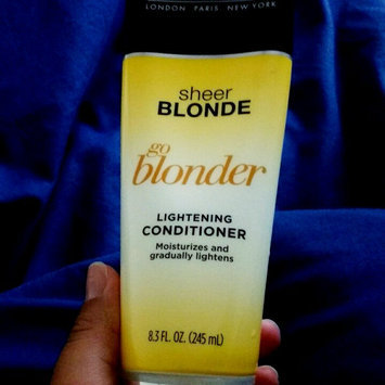 Photo of John Frieda® Sheer Blonde Go Blonder Lightening Conditioner 8.3 fl. oz. Tube uploaded by Amanda M.