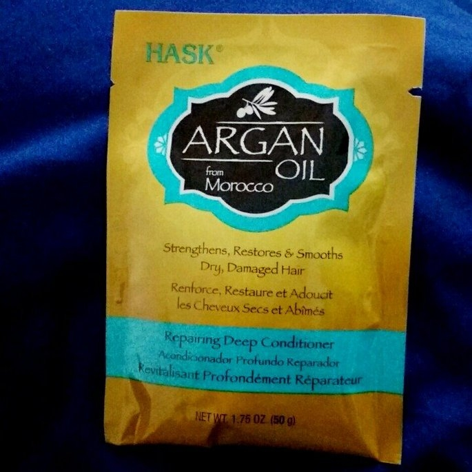 Hask Argan Oil Intense Deep Conditioning Hair Treatment uploaded by Amanda M.